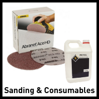 consumables and sanding