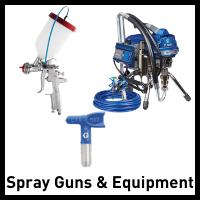 spray equipment and spray guns