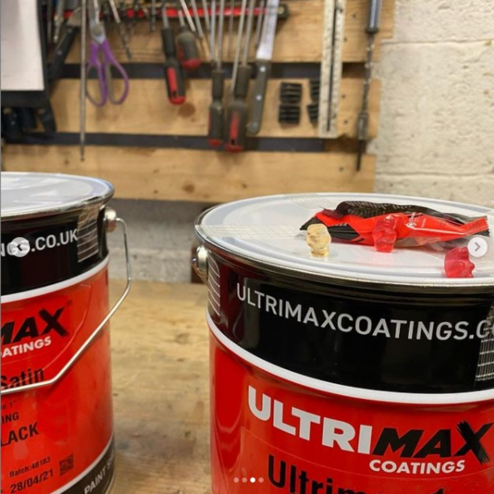 heat resistant paint in a 1 pack
