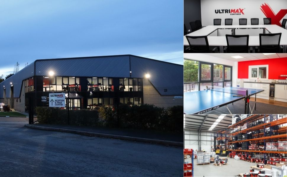 ultrimax coatings industrial paint factory