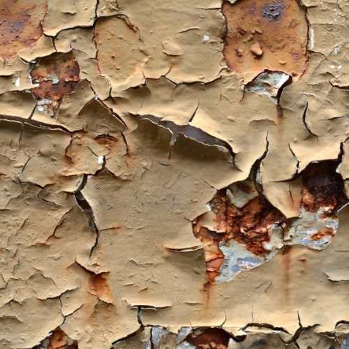 heat resistant paint on steekl
