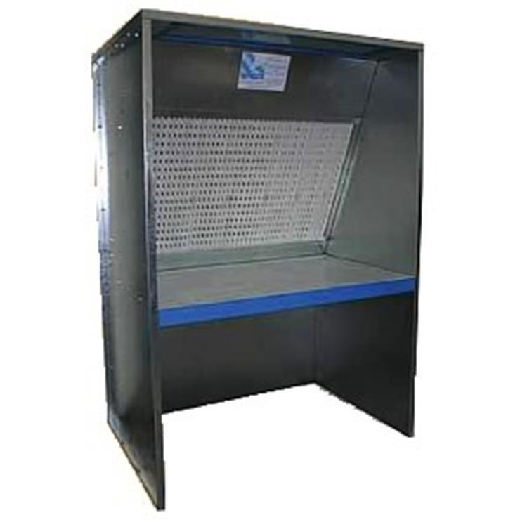 spray booth types