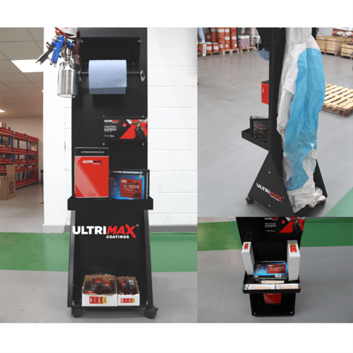 Ultrimax Portable Spray Shop Trolley Deal