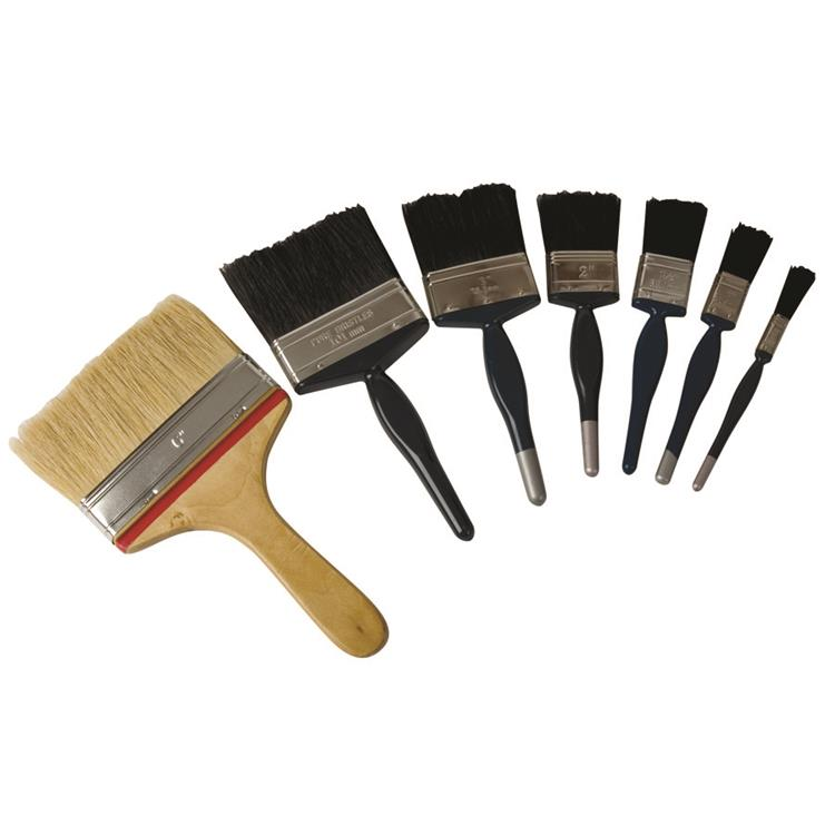 12 X Ultrimax Contractor Paint Brushes - 1inch