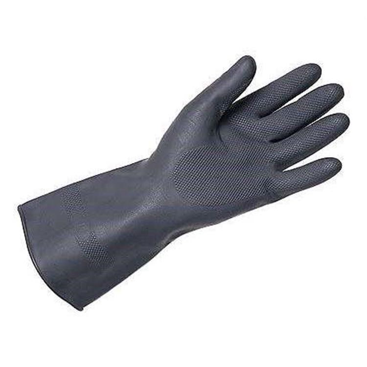 Ansell h/duty Chemical Resistant Gloves G17k (size 8.5)